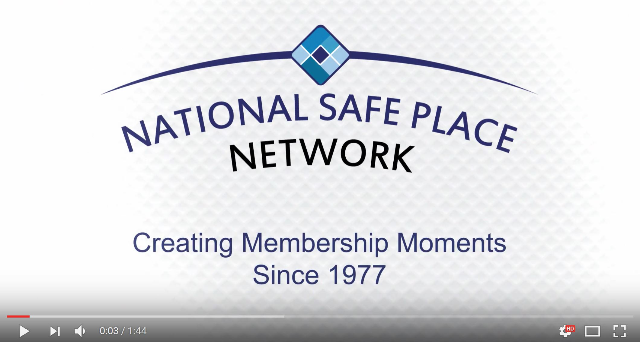 Image capture of the Membership Moments video from YouTube.